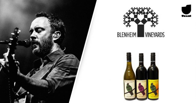 Dave Matthews é dono da vinícola Blenheim Vineyards, no estado da Virgínia, EUA.
