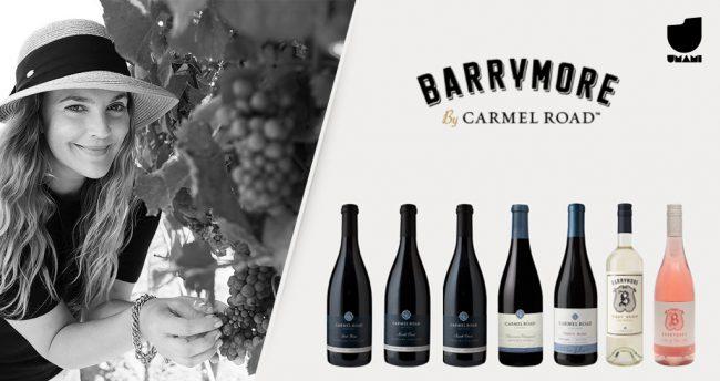 Drew Barrymore possui sua própria linha de vinhos, elaborados na California.
