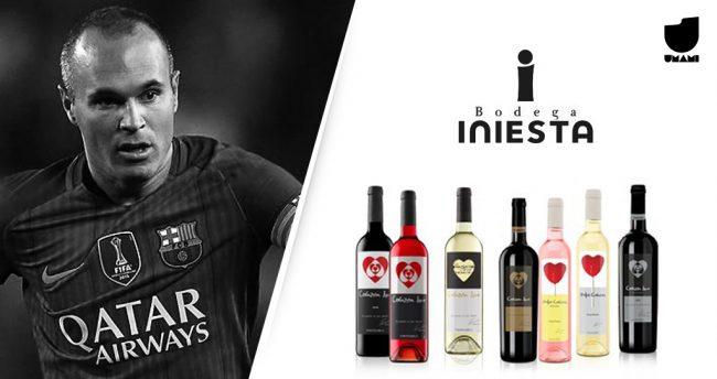 Iniesta é dono da Bodega Iniesta, na Espanha.
