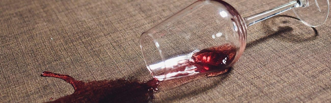 mancha de vinho